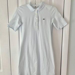 Lacoste Size 36 White Dress